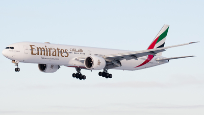 A picture of A6EQJ - Boeing 77731H(ER) - Emirates - © RobertLN