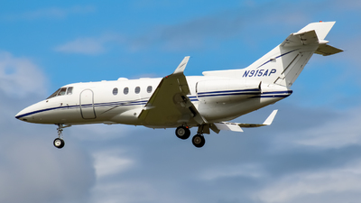 N915AP - Hawker Beechcraft 800XP - Private