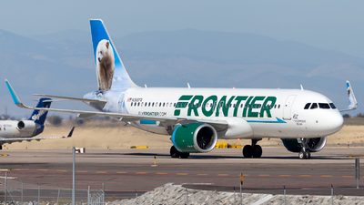 A picture of N366FR - Airbus A320251N - Frontier Airlines - © HA-KLS