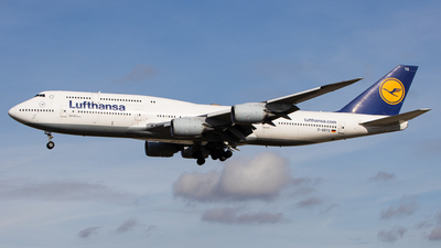 A picture of DABYG - Boeing 747830 - Lufthansa - © Florian vom Bovert