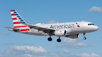 N8009T - Airbus A319-115 - American Airlines