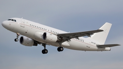 A6-CJE - Airbus A319-115X(CJ) - United Arab Emirates - Government