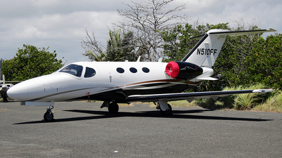 N510FF - Cessna 510 Citation Mustang - Private