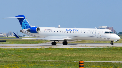 A picture of N508GJ - Mitsubishi CRJ550 - United Airlines - © Aaron Miles
