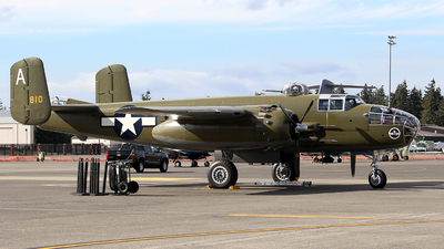 N41123 - North American B-25J Mitchell - Flying Heritage & Combat Armor Museum