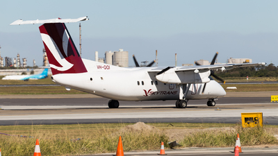 A picture of VHQQI - De Havilland Canada Dash 8100 - Skytrans - © Rory Delaney