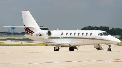 N306QS - Cessna 680 Citation Sovereign - NetJets Aviation