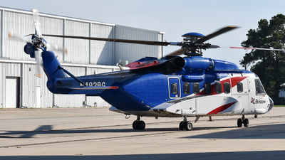 N492BG - Sikorsky S-92A Helibus - Bristow Helicopters