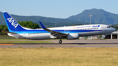 JA83AN - Boeing 737-881 - All Nippon Airways (ANA)