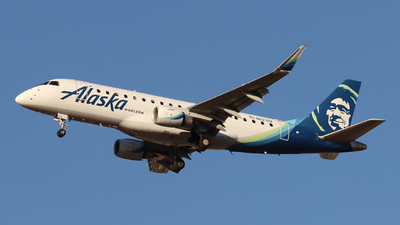 A picture of N623QX - Embraer E175LR - Alaska Airlines - © Ethan Peters