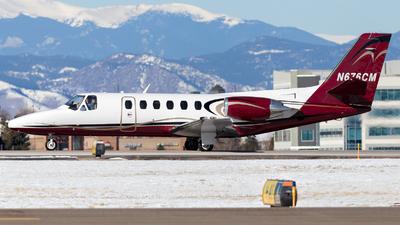 N676CM - Cessna 550 Citation II - Private