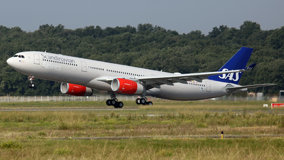 F-WWYJ - Airbus A330-343 - Scandinavian Airlines (SAS)