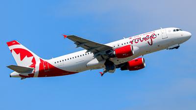 C-GFCI - Airbus A320-214 - Air Canada Rouge