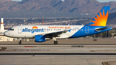 N308NV - Airbus A319-112 - Allegiant Air