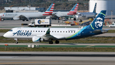 N650QX - Embraer 170-200LR - Alaska Airlines (Horizon Air)