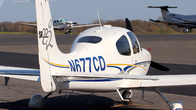 N677CD - Cirrus SR22-G2 - Private