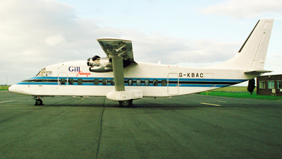 G-KBAC - Short 360-300 - Gill Airways