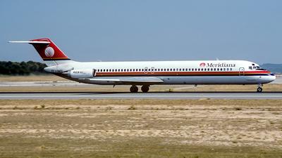 I-SMEO - McDonnell Douglas DC-9-51 - Meridiana