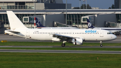 LZ-MDO - Airbus A320-214 - Enter Air (Via Airways)