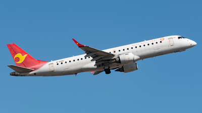 B-3129 - Embraer 190-100LR - Tianjin Airlines