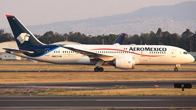 N967AM - Boeing 787-8 Dreamliner - Aeroméxico