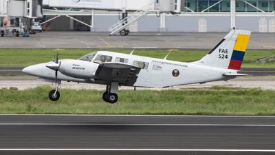FAE524 - Piper PA-34-220T Seneca III - Ecuador - Air Force