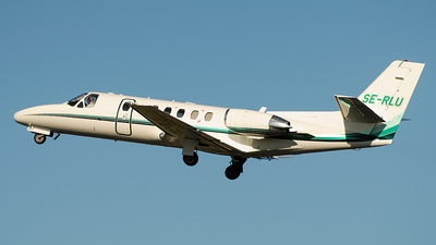 SE-RLU - Cessna 560 Citation Ultra - Private