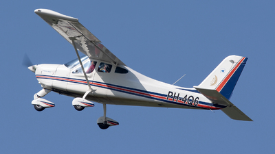 A picture of PH4Q6 - Tecnam P92 Echo Super - [1011] - © Dutch