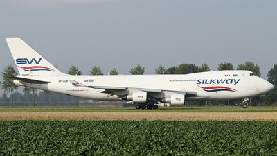 VP-BCR - Boeing 747-4H6F(SCD) - Silk Way West Airlines