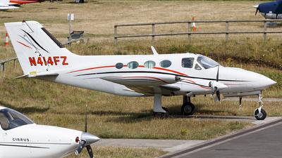 A picture of N414FZ - Cessna 414 - [4140175] - © Thimo van Dijk