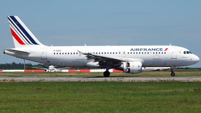 F-GKXI - Airbus A320-214 - Air France