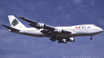 N203AE - Boeing 747-2B4B(M) - Middle East Airlines (MEA)