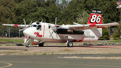 N433DF - Grumman S-2F3AT Turbo Tracker - United States - California Department of Forestry