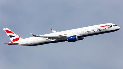 G-XWBD - Airbus A350-1041 - British Airways