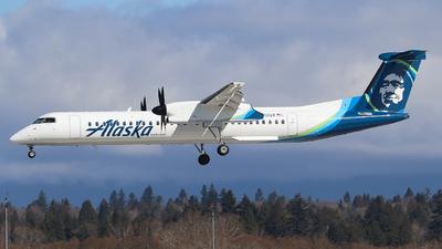 A picture of N412QX - De Havilland Canada Dash 8400 - Alaska Airlines - © yyj_plane_spotter