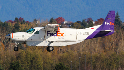 A picture of CFEXB - Cessna 208B Grand Caravan - FedEx - © Brandon Siska