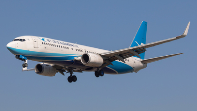 A picture of B7848 - Boeing 73785C - Xiamen Air - © Aircraft carrier FX