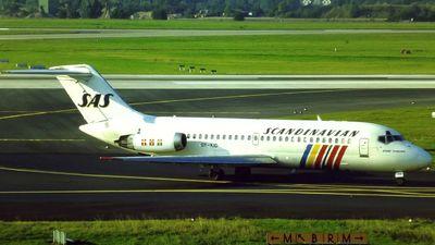 OY-KID - McDonnell Douglas DC-9-21 - Scandinavian Airlines (SAS)