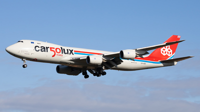 LX-VCC - Boeing 747-8R7F - Cargolux Airlines International