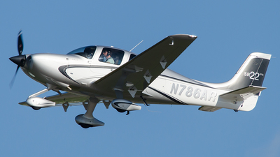 N786AR - Cirrus SR22 - Private