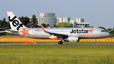 JA22JJ - Airbus A320-232 - Jetstar Japan Airlines