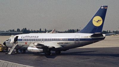 D-ABEB - Boeing 737-130 - Lufthansa