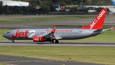 A picture of GGDFC - Boeing 7378K2 - Jet2 - © Owen Ceney