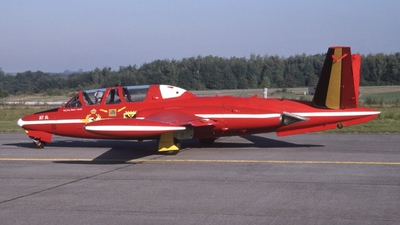 MT-04 - Fouga CM-170 Magister - Belgium - Air Force