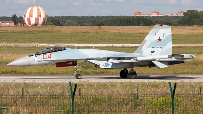 04 - Sukhoi Su-35S - Russia - Air Force