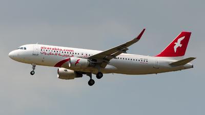 A6-AOR - Airbus A320-214 - Air Arabia
