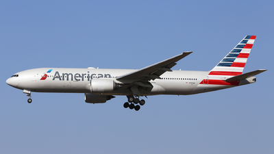 A picture of N781AN - Boeing 777223(ER) - American Airlines - © Eric Boettcher