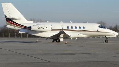 A picture of CSLTK - Cessna 680A Citation Latitude - NetJets - © Eugen P.