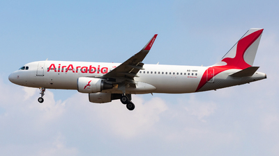 A6-ANR - Airbus A320-214 - Air Arabia