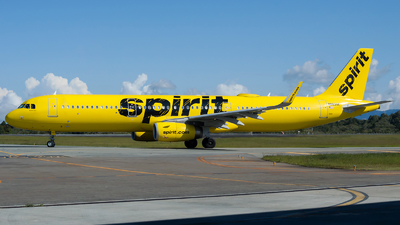 A picture of N683NK - Airbus A321231 - Spirit Airlines - © Jorge Saenz